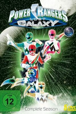 power rangers lost galaxy german series dvd cover